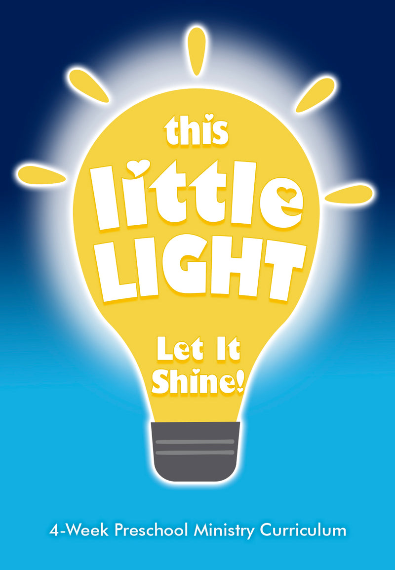 This Little Light 4-Week Preschool Ministry Curriculum