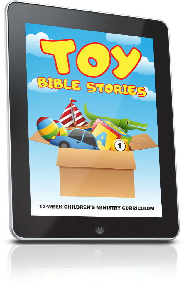 Toy Bible Stories Children's Ministry Lesson