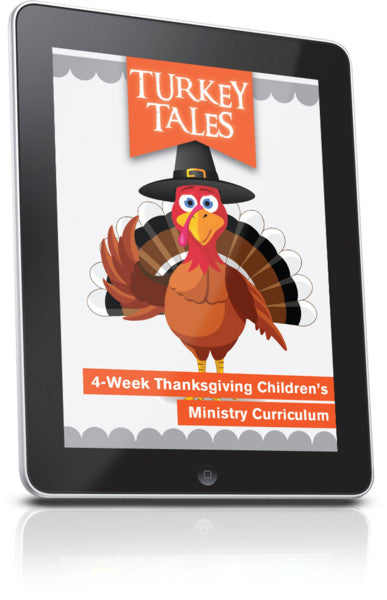 FREE Turkey Tales Children's Ministry Lesson