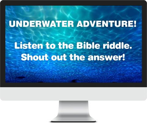 Finding Jesus Riddle Game Video