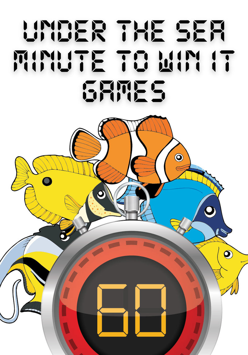 Under The Sea Minute To Win It Games