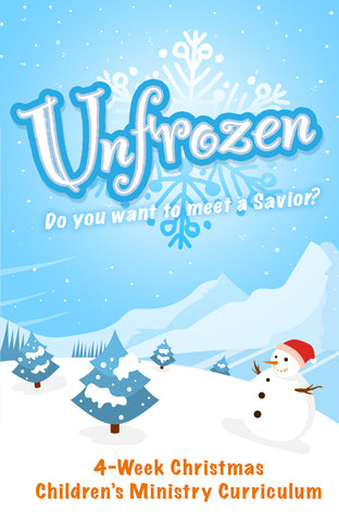 unFrozen 4-Week Christmas Children's Ministry Curriculum