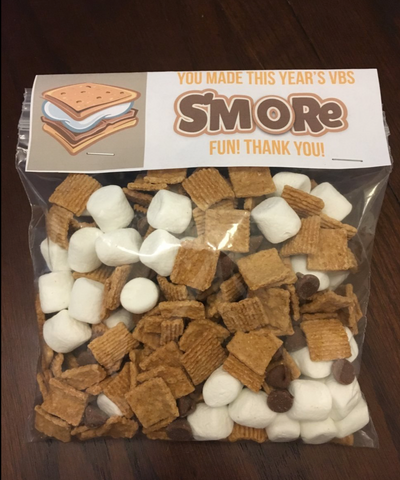 S'mores Gift For VBS Volunteers