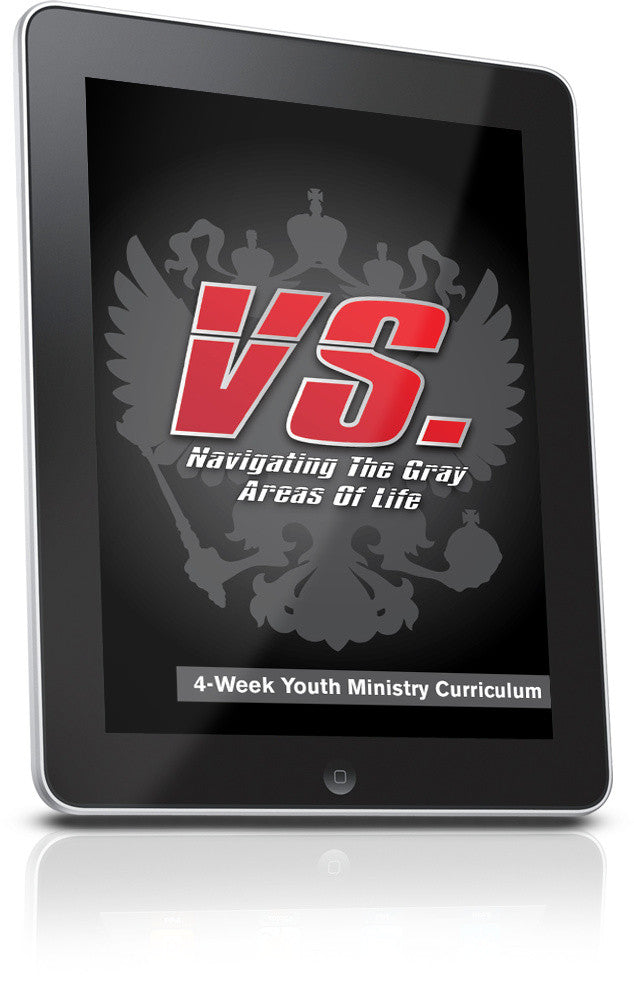 VS. Youth Ministry Curriculum Lesson 1