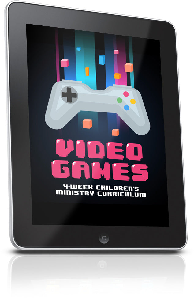 FREE Video Games Children's Ministry Lesson