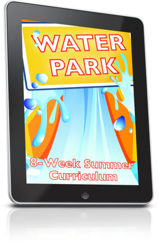 FREE Water Park Children's Ministry lesson
