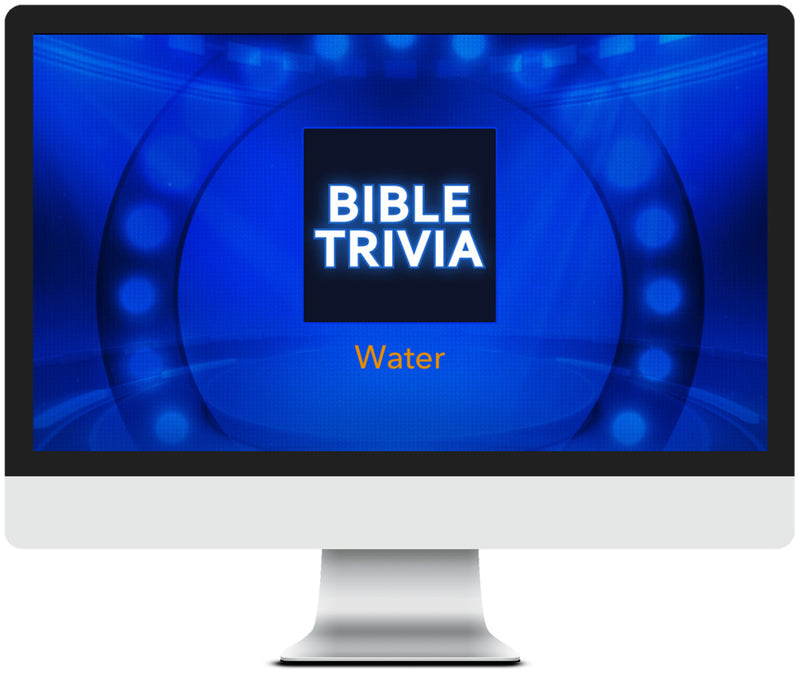 Water Bible Trivia Game for Kids