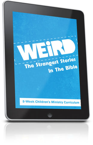 FREE Weird Children's Church Lesson