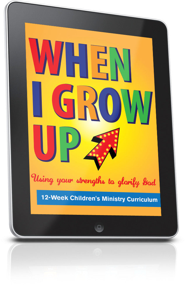 FREE When I Grow Up Children's Ministry Lesson