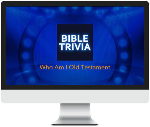 Who Am I Old Testament Bible Trivia Game for Kids