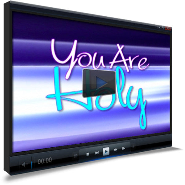 You are Holy Children's Ministry Worship Video