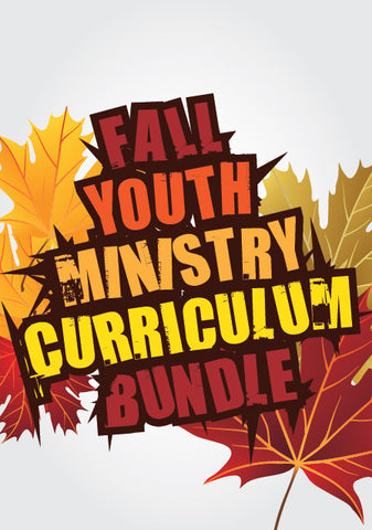 Fall Youth Ministry Curriculum Bundle
