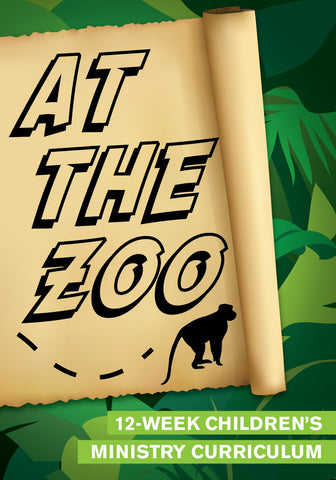 At The Zoo 12-Week Children's Ministry Curriculum