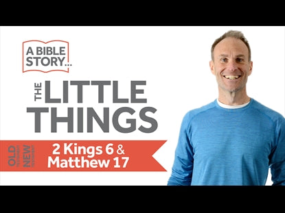 The Little Things - 2 Kings 6 & Matthew 17 Bible Lesson Video for Kids