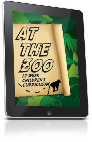 FREE At The Zoo Children's Ministry Lesson