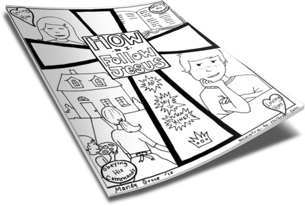 childrens church coloring pages - photo#24