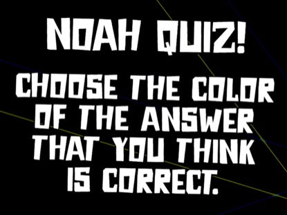 Bible Quiz: Noah Church Game Video for Kids