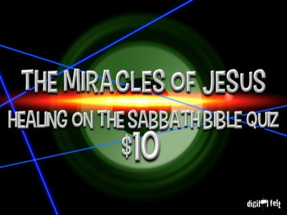 Bible Quiz: Healing on the Sabbath Church Game Video for Kids