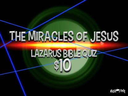 Bible Quiz: Lazarus Church Game Video for Kids