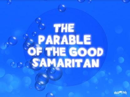 Bible Quiz - The Parable of the Good Samaritan Church Game Video for Kids