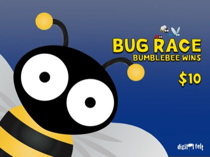 Bug Race: Bumblebee Wins Church Game Video for Kids
