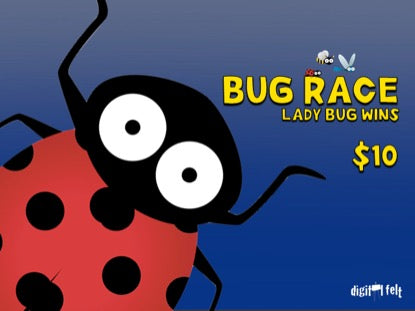Bug Race: Ladybug Wins Church Game Video for Kids