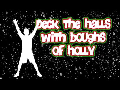 Deck the Halls Worship Video for Kids