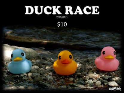Duck Race 1 Church Game Video for Kids