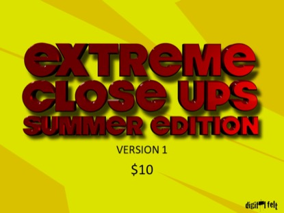 Extreme Close Ups Summer 1 Church Game Video for Kids