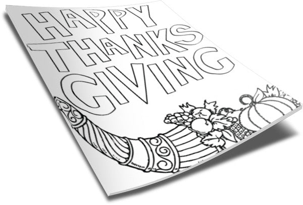 - Thanksgiving Coloring Page