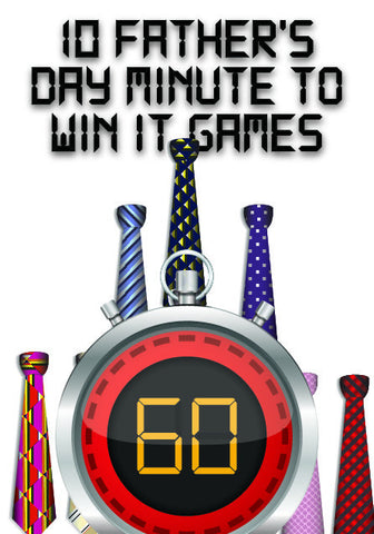 10 Father's Day Minute to Win It Games