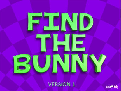Find the Bunny Version 1 Church Game Video for Kids