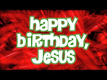 Hap-Hap Happy Birthday Jesus Worship Video for Kids