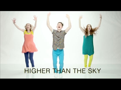 Higher Than The Sky Worship Video for Kids
