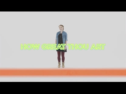 How Great Thou Art Hand Motions Video