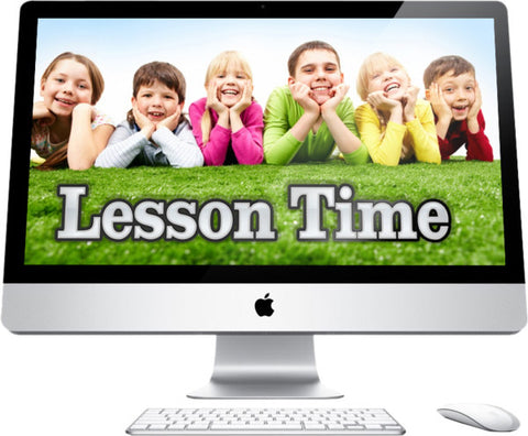 Lesson Time Children's Church Graphics