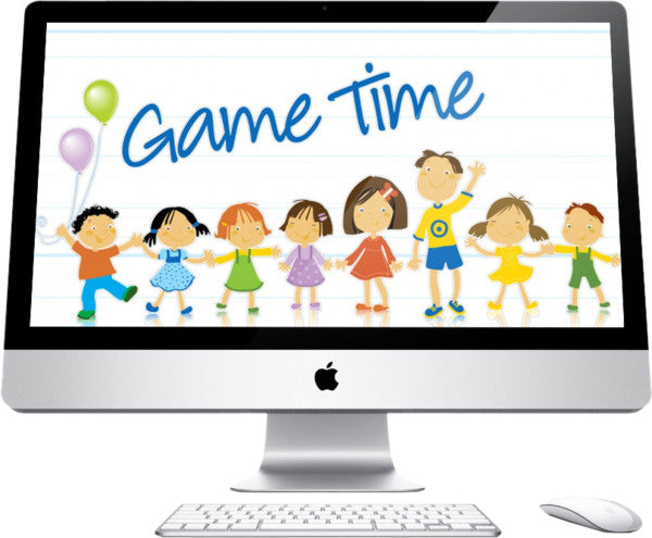 Game Time Children's Church Graphics