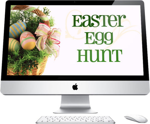 Easter Egg Hunt Children's Church Graphic