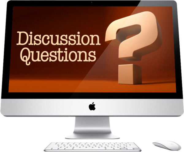 Discussion Questions Children's Church Graphic