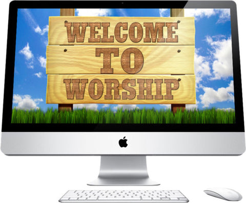 Welcome To Worship Children's Church Graphic