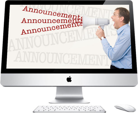 Announcements Graphic