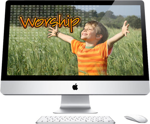 Worship Children's Church Graphics