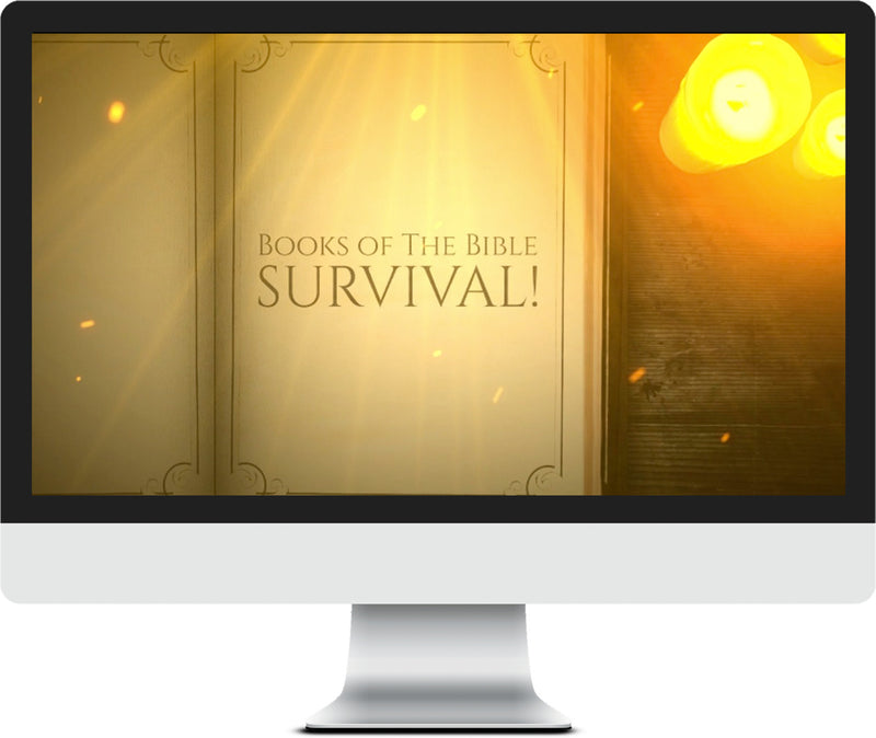 Books of the Bible Survival Game for Kids Church