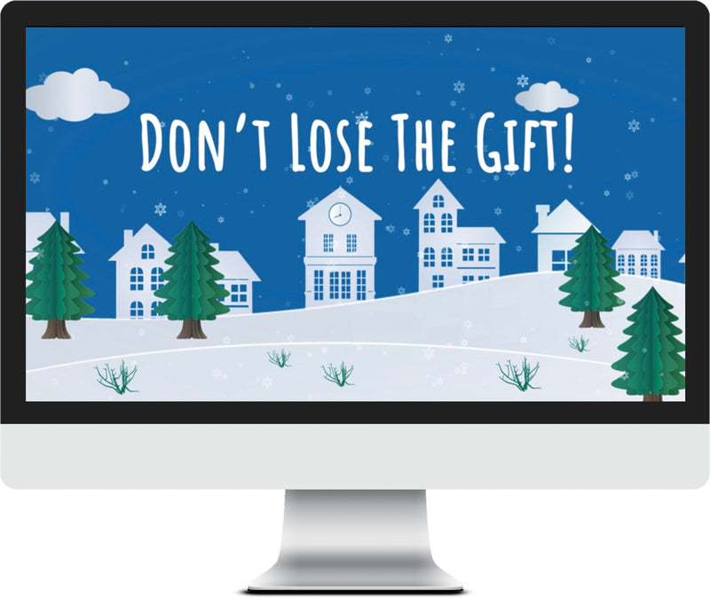 Don't Lose the Gift Christmas Game Video