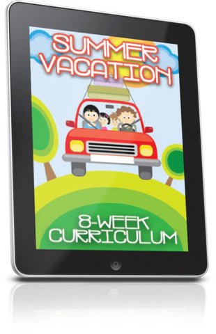 FREE Summer Vacation Children's Ministry Lesson