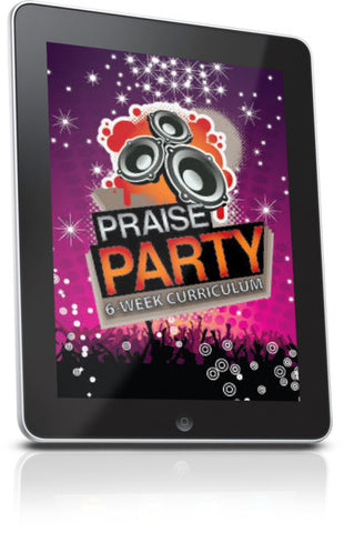 FREE Praise Party Children's Ministry Lesson