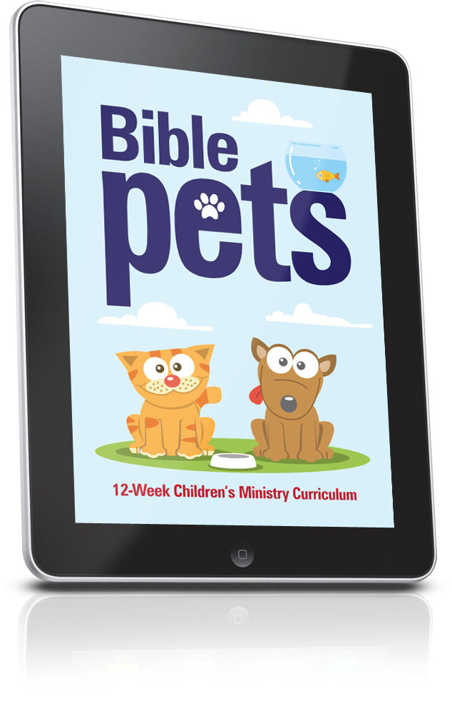 FREE Pets Children's Ministry Lesson