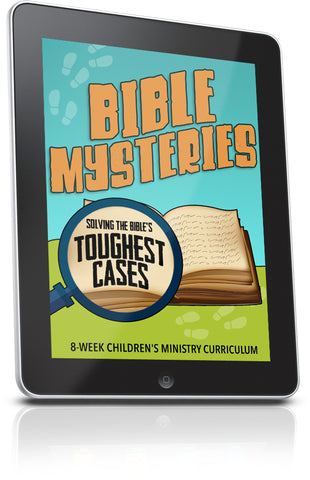 FREE Bible Mysteries Sunday School Lesson