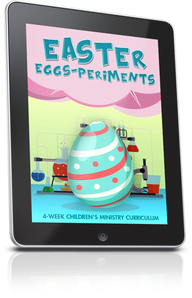 FREE Easter EGGSperiments Sunday School Lesson