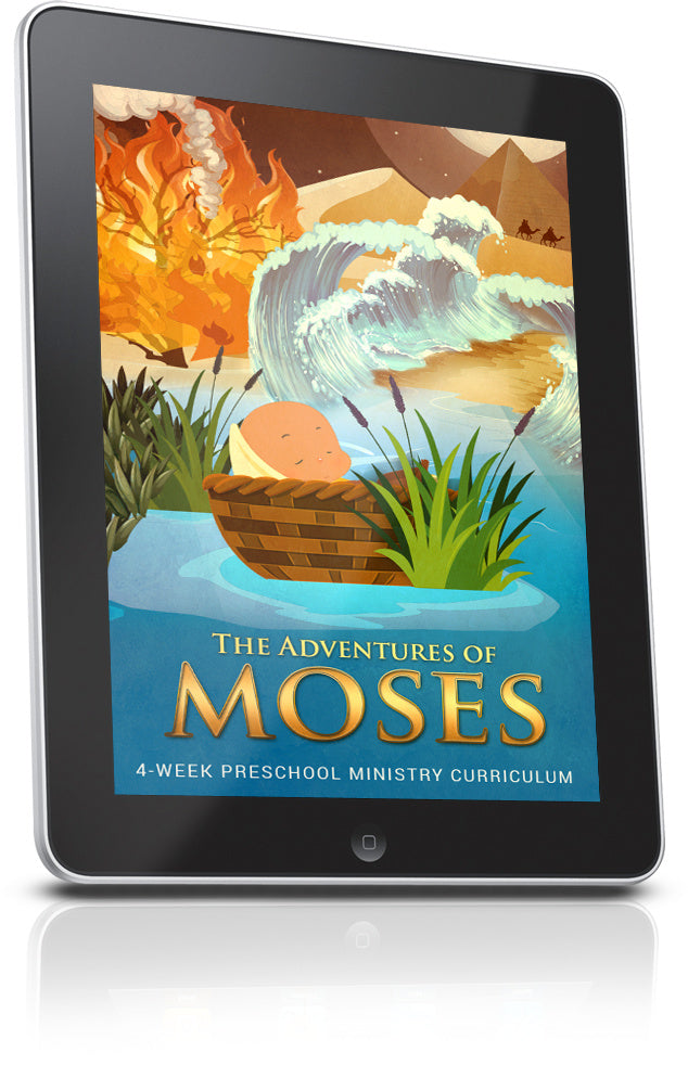 Moses Preschool Ministry Sample Lesson